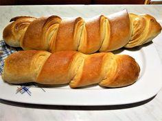 Απίθανες μπακέτες σκέτες ή και γεμιστές - γίνονται φανταστικές! Hot Dog Buns, Hot Dogs, Bread, Food, Brot, Essen, Baking, Meals, Breads