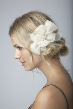 Wedding Hair/Fascinator?