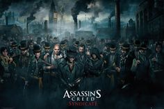 Assassins Creed Syndicate Crowd - Official Poster