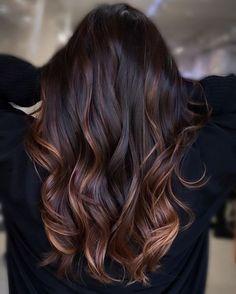 Pretty Hair Color, Hair Color Pink, Hair Color For Black Hair, Brown Hair Colors, Hair Color For Brunettes, Pretty Brown Hair, Black Brown Hair, Hair Color For Women, Caramel Brown Hair