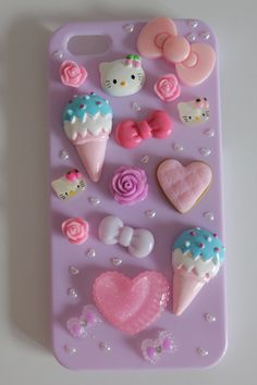 Hey, I found this really awesome Etsy listing at https://www.etsy.com/listing/160416432/kawaii-lilac-pastel-decoden-hello-kitty