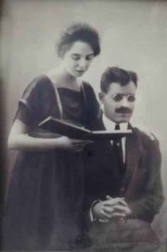 Great Egyptian novelist Taha Hussin and his wife Vintage Pictures, Old Pictures, Old Photos, Rare Photos, Vintage Photographs, Old Egypt, Ancient Egypt, Arab Celebrities, Historical Pictures
