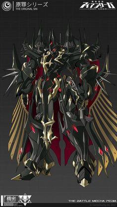 Arte Robot, Robot Art, Robot Concept Art, Armor Concept, Fantasy Armor, Dark Fantasy Art, Character Concept, Character Art, Mecha Suit
