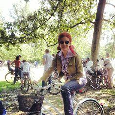 The RedHead, Rossana Diana, @ cyclepride in Milano