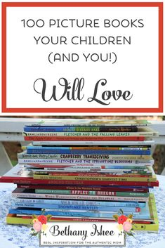 I love picture books! When my older ones were little, our entire homeschool consisted of picture books. Kids Reading, Teaching Reading, Reading Lists, Learning, Good Books, Books To Read, Amazing Books, Rainbow Songs, Bookshelves Kids