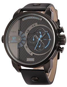 Bild Shark Herren Armbanduhr Quarzuhr mit…
