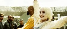 mtv suicide squad harley quinn margot robbie reaction gif