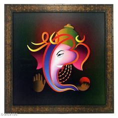 Paintings & Posters Stylish Wood & Plastic Wall Painting Material: Wood & Plastic Size: (L x W) - 13.8 in x 13.8 in Description: It Has a Single Piece Of Frames With Painting (Glass Is Not Included) Work: Printed Country of Origin: India Sizes Available: Free Size   Catalog Rating: ★4.1 (440)  Catalog Name: Spirtual Wall Paintings Vol 1 CatalogID_28048 C127-SC1611 Code: 422-269136-873