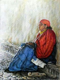 'Waiting for Tomorrow' Acrylic non Canvas 224 x 302 x South African Artists, Waiting, Fine Art, Canvas, Artwork, Tela, Work Of Art, Toile, Canvases