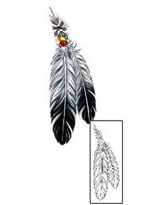 This Feather tattoo design from our Miscellaneous tattoo category was created by Cherry Creek Flash. This download Includes a printable full size color reference, and exact matching stencil. Choose Tattoo Johnny the most trusted brand in tattoo.