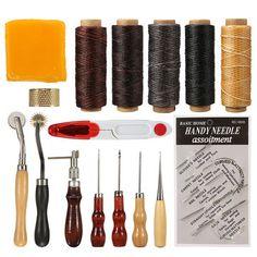 Nur US$15.39Am besten kaufen 16Pcs Werkzeuge Satz Leder Stitching Werkzeug Nähen Stanzen Hand Set Satzs Leathercraft Verkauf Online-Shop unter Großhandelspreis. US./ EU Lager