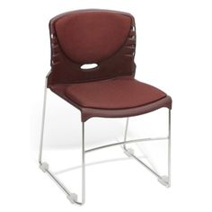 The OFM High Capacity Fabric Seat & Back Stacker. Durable plastic shell seat and back.