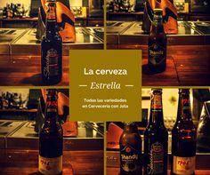 ¿Conoces todas las variedades de Estrella Galicia?, en Cervecería con Jota las tenemos todas, ¡Ven a probarlas, te encantarán!