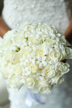Wedding bouquet idea; photo: Anthony Vazquez