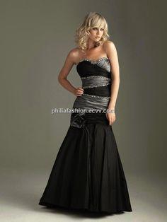 black grey prom