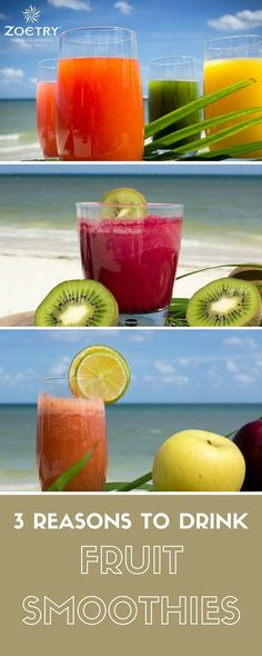 There's something extremely refreshing about delicious fruit on a warm, sunny day! Here's three reasons why you should enjoy a fruit smoothie while soaking up the sun at Zoëtry Wellness & Spa Resorts!