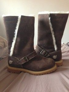 Women's Fur Lined Timberland Boots