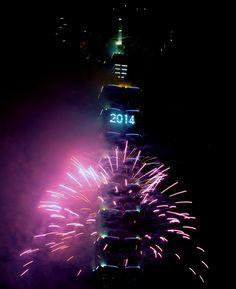 Welcoming new year 2014. Taipei skyscraper , Taiwan/                                        yle.fi/ Epa/ Henry Lin