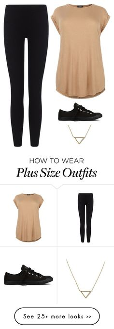 """""""Untitled #1865"""" by twerkinonmaz on Polyvore featuring James Perse, Converse and Banana Republic"""