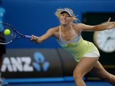 Sharapova - Australian Open. Foto: AP