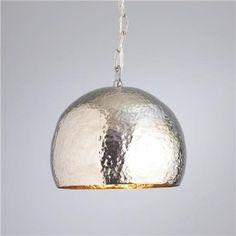 mercury glass pendant from Shades of Light