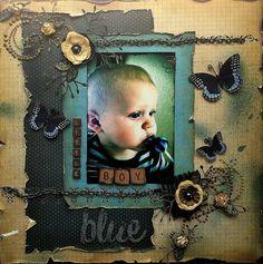 Little Boy Blue ***SWIRLYDOOS*** - Scrapbook.com