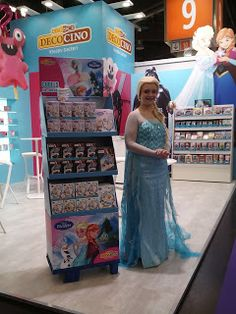 Stunning Kerstins Kuchen Kreationen Spielwarenmesse N rnberg Elsa meets Dekoback