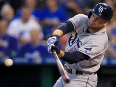 Austin Pruitt and Matt Andriese combined to shutout the Kansas City Royals on just en route to a Rays victory. Tampa Bay Rays Baseball, Florida, Kansas City Royals, Cleveland Indians, Sport, Mlb, Baseball Cards, Deporte, Excercise