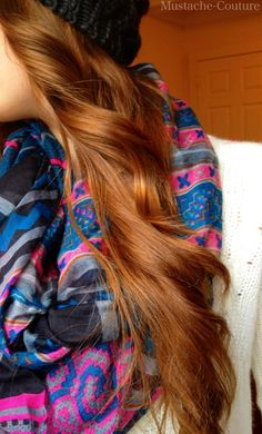 I like this color. Might make this my next hair color?