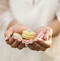 This Parisian-Inspired Rowboat Engagement Session from Judy Pak features macarons, a gorgeous engagement ring and a rowboat ride through Central Park. Cheap Wedding Rings, Cheap Engagement Rings, Bridal Rings, Solitaire Engagement, Wedding Engagement, Engagement Session, Wedding Jewelry, Dessert Bar Wedding, Wedding Desserts