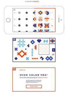 Overcolor Pro app on Behance