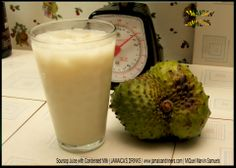 Soursop Juice with Condensed Milk - http://jamaicandinners.com JAMAICAs DRINKS -MiQuel Marvin Samuels