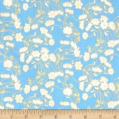 Liberty Lifestyle Stile Collection Lowke Cornflower Blue $14.98/y