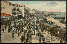 Patras-Greece, World War I era postcard Patras, Greece Pictures, Eastern Europe, World War I, Vintage Pictures, Wwi, Great Britain, Paris Skyline, Street View