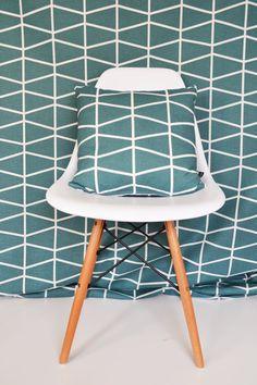 Living room drapes Swedish Scandinavian fabric Per metre Spira Fasset by Andshine