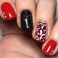 Instagram media by 25_sweetpea - Hey y'all!! So Her is my solo shot of my nails I did with @mynailpolish_addiction !! I really like how they came out! Color wise I used @zoyanailpolish Imogen , @serendipitypolish Big Red Bow ( on sale Fo $5 right now), and @deco.miami Don't call Me Baby Girl✨✨✨ So what do y'all think?! Full info is in the link in my bio!!!@So_Nailicious Edgy Valentine challenge #SoNailiciousChallenge2