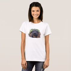 Little poppy playing around exploring the world T-Shirt - dog puppy dogs doggy pup hound love pet best friend