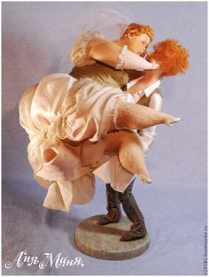 Купить Драгоценная ноша - авторская ручная работа, авторская кукла, ручная работа, позитивный подарок
