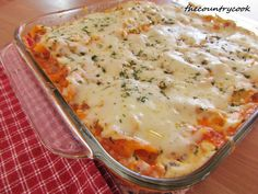 The Country Cook: Baked Penne