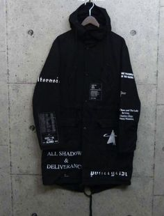 Raf Simons : AW05 All Shadows and Deliverance / Poltergeist Parka