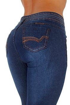 788f8028d452 Virtual Sensuality Womens Colombian Butt Lift Stretch Skinny Push Up High  Waist Jeans Levanta Cola VENECIA Size 11   See this great product.