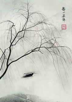 "Online Посиделки в Живом Журнале - Chin-san Long. ""Picture in the painting, painting in the picture"""