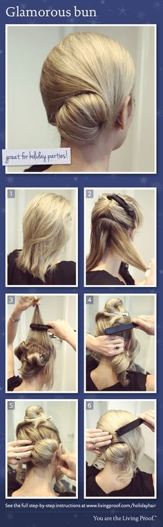 The how to for this fabulous bun!