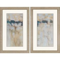 Carbon Neutral by Parker 2 Piece Framed Graphic Art Set | Wayfair