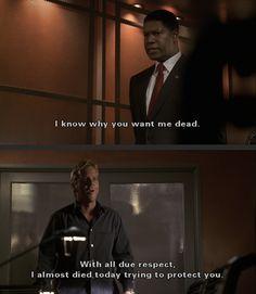 Senator David Palmer and Jack Bauer; Season 1