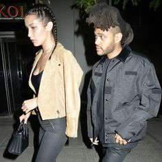 Bella Hadid and the The Weeknd looking srsly cute on a date night. What did they do, you ask? Find out: http://asos.do/yUJQt2