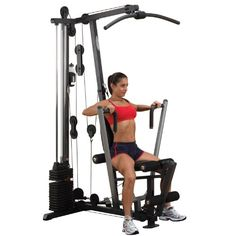 http://pins.getfit2gethealthy.com/pinnable-post/body-solid-g1s-selectorized-home-gym/ The Body-Solid G1S packs a lot of power, strength and durability into the smallest footprint available. Centered on a 160 lb. selectorized weight stack, this gym allows over 40 toning, trimming and strength training exercises. From the multi-grip press arm to the contoured, adjustable seat pad, the G1S gives you more for your money than any other home gym on the...Click image for more info