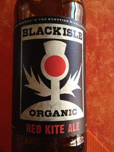 Black Isle Organic Red Kite  Brewed by Black Isle Style: Bitter Munlochy, Rosshire, Scotland