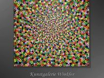 FebruarKonfetti Acrylbild Abstrakt Modern Unikat  http://de.dawanda.com/shop/A-Winkler