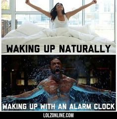 Waking Up Naturally... #lol